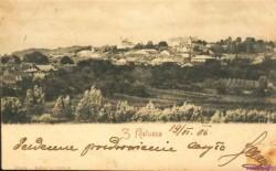 Вигляд міста з Хотіня (поч XX cт.):  Старий Калуш