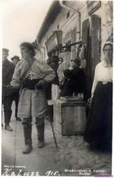 Блаженний на ринку:  Старий Калуш