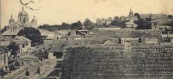 Вид на місто, поч XX ст.:  Старий Калуш